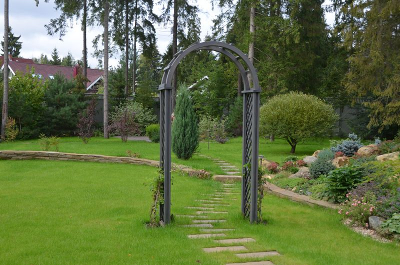 Пергола-арка