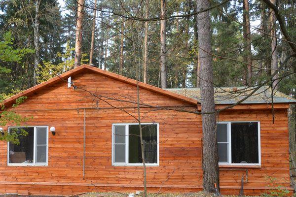Деревянная облицовка дома